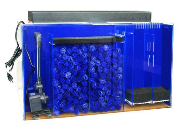 Clear for life 55 gallon rectangle uniquarium tank reviewed for Fish filtration system