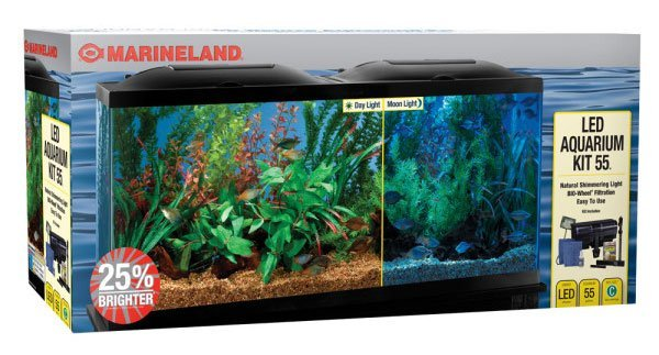 12 top 55 gallon aquariums kits and fish tanks shortlisted for 20 gallon fish tank kit