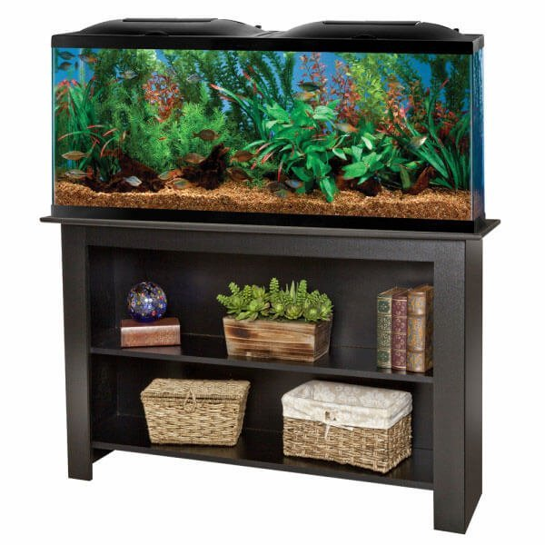 12 top 55 gallon aquariums kits and fish tanks shortlisted for 55 gal fish tank stand