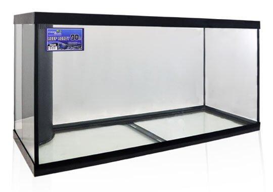 Deep blue 90 gallon reef ready aquarium reviewed for 90 gallon fish tank dimensions