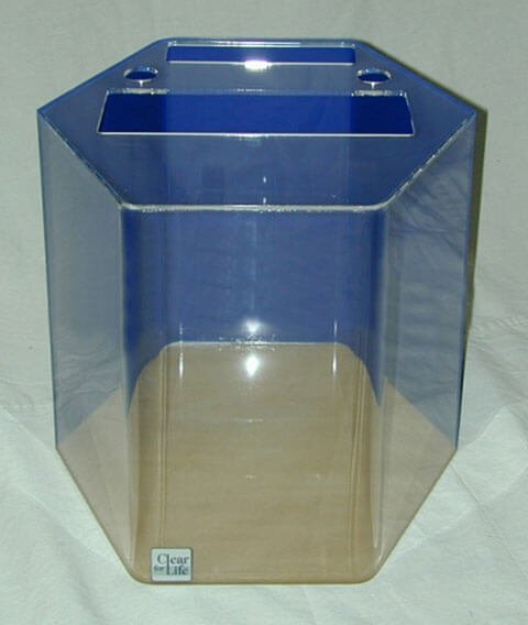 75 gallon aquarium archives myaquarium for Hexagon fish tank lid