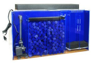 UniQuarium 75 Gallon Filtration aquarium system
