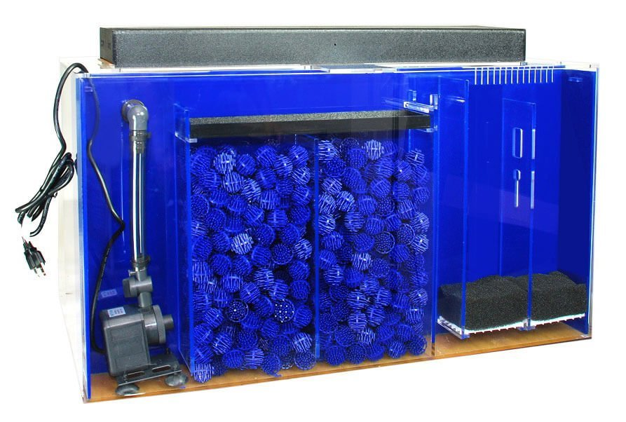75 gallon aquarium drilled 75 gallon corner flo pre for Sea clear fish tank