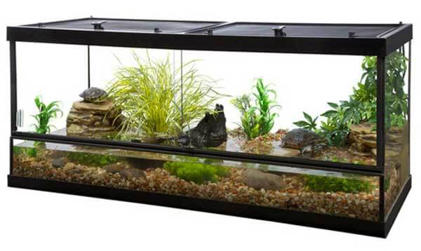 Tetra Reptile 75-Gallon STS26926 Deluxe Slide Door Enclosure \u2013 Review \u0026 Spec